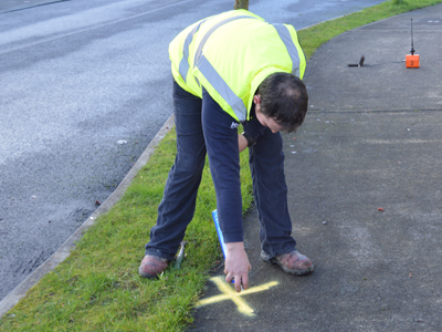 Outdoor leaks leak detection for Leaky pipe carries more water